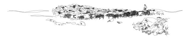 scène pastorale