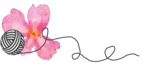 fleur et pelotte