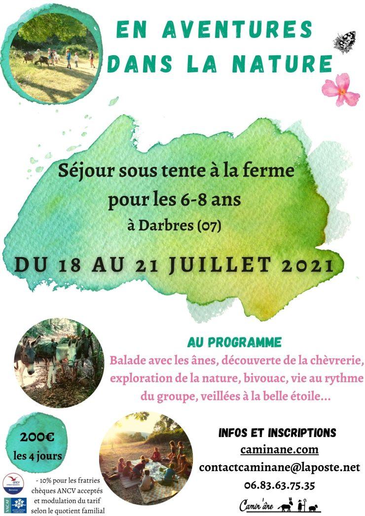 En aventure dans la nature 2021